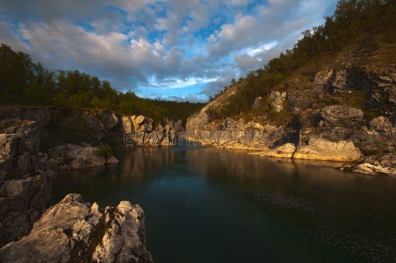 Canyon di Silfar fotografie stock