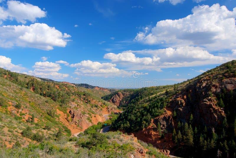 Canyon di Waldo fotografia stock