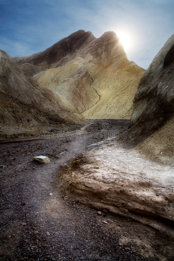 Canyon dorato immagine stock