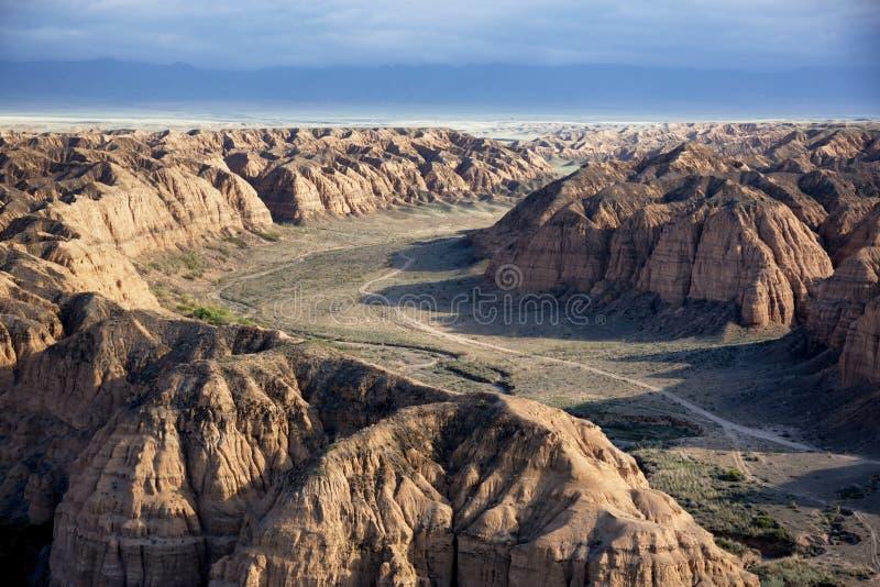 Canyon giallo fotografia stock libera da diritti