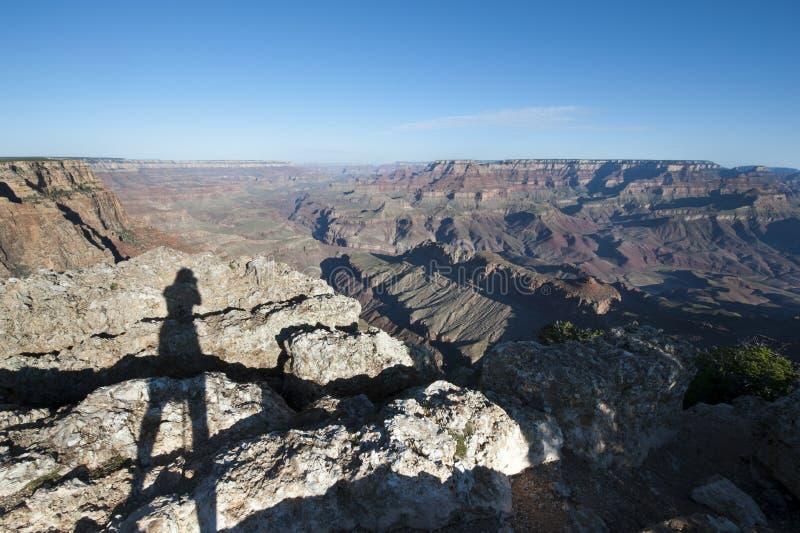 Canyon grand, Amérique photographie stock