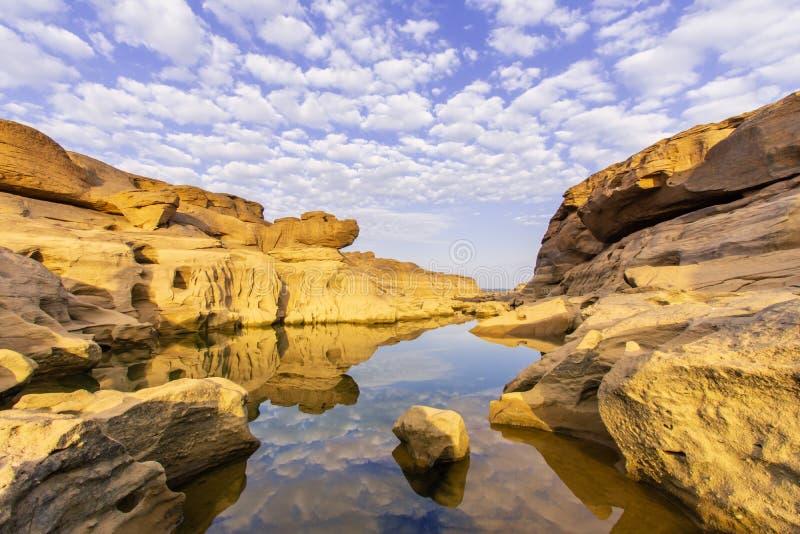 Canyon grand de SamPunBoke photo libre de droits