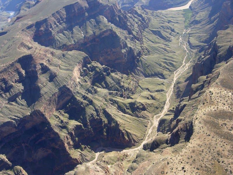 Canyon grand et fleuve Colorado photos libres de droits