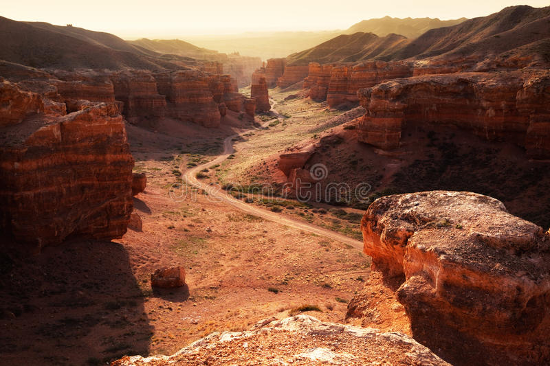 Download Canyon In The Kazakhstan Stock Photo - Image: 23335440
