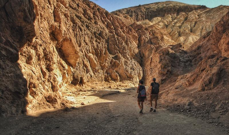 canyon la Californie image libre de droits