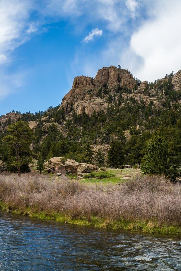 Canyon le Colorado d'onze milles image libre de droits