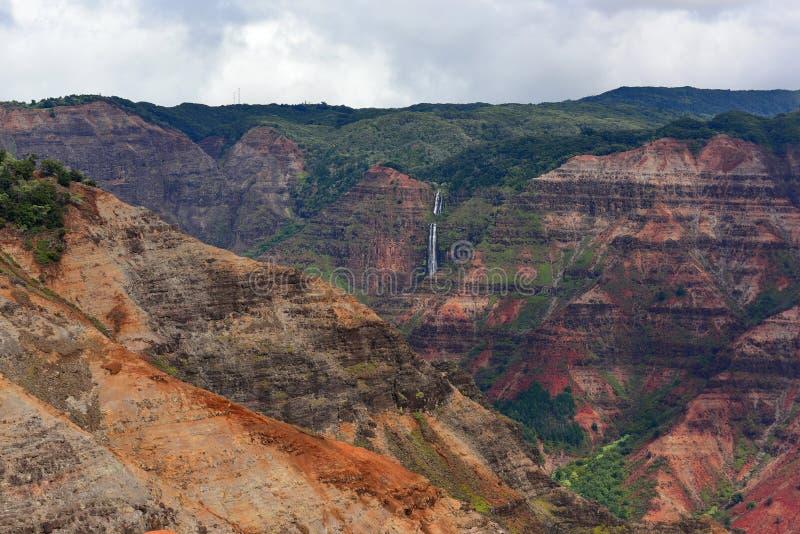 Canyon magnifico di Waimea immagine stock libera da diritti