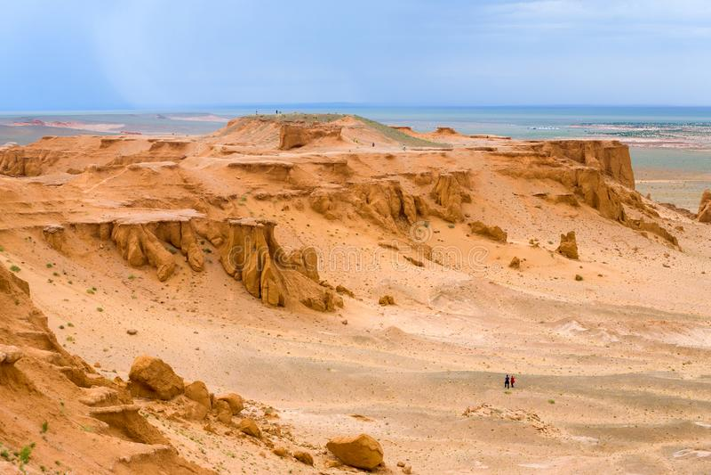 Canyon Mongolia di Khermen Tsav immagini stock libere da diritti