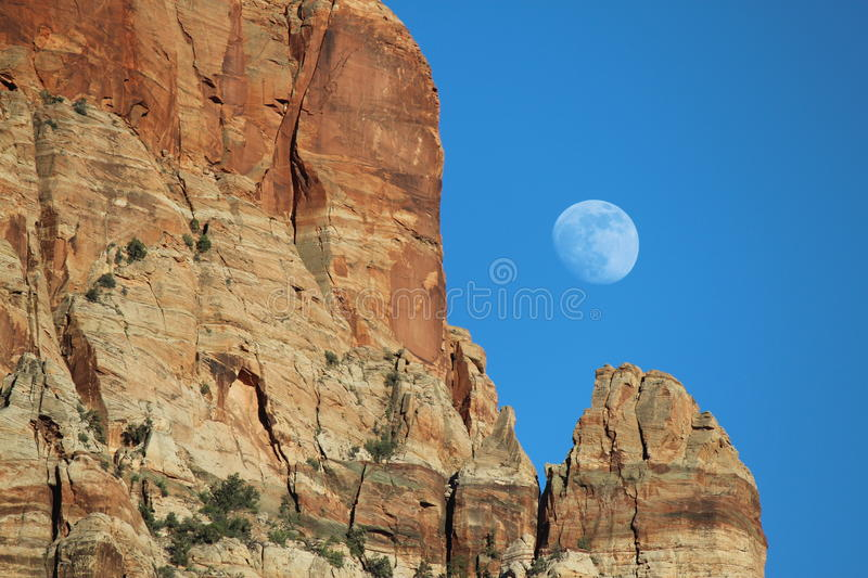 Canyon Moon stock images