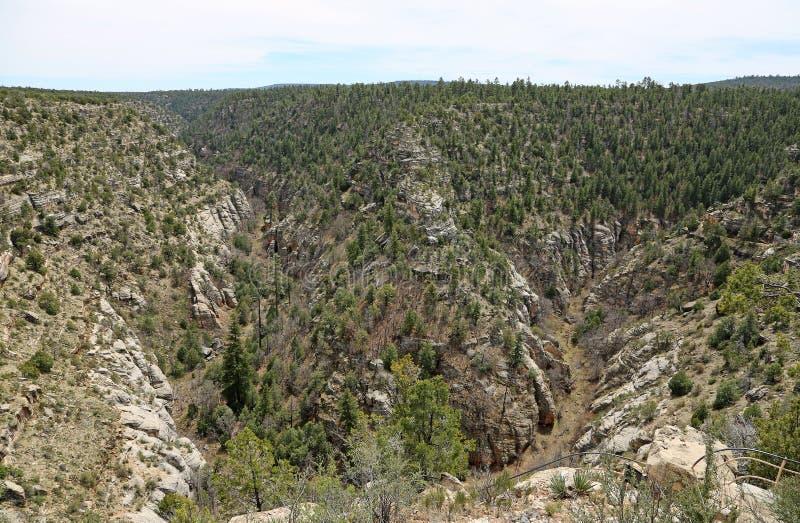Canyon nanomètre de noix photographie stock libre de droits