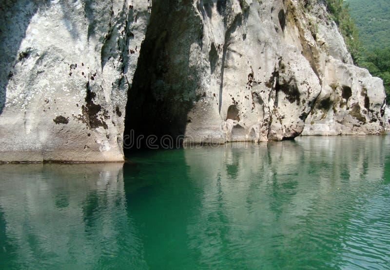Canyon of Neretva river royalty free stock photo