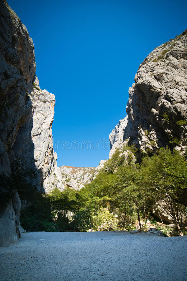 Download Mountains Paklenica National Park Stock Image - Image of summer, mountains: 29820893