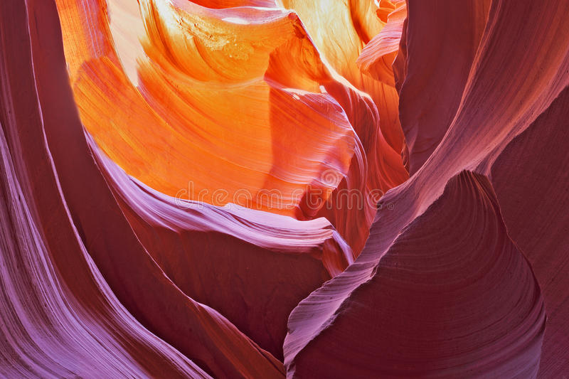 Canyon pittoresco del scanalatura-foro immagini stock