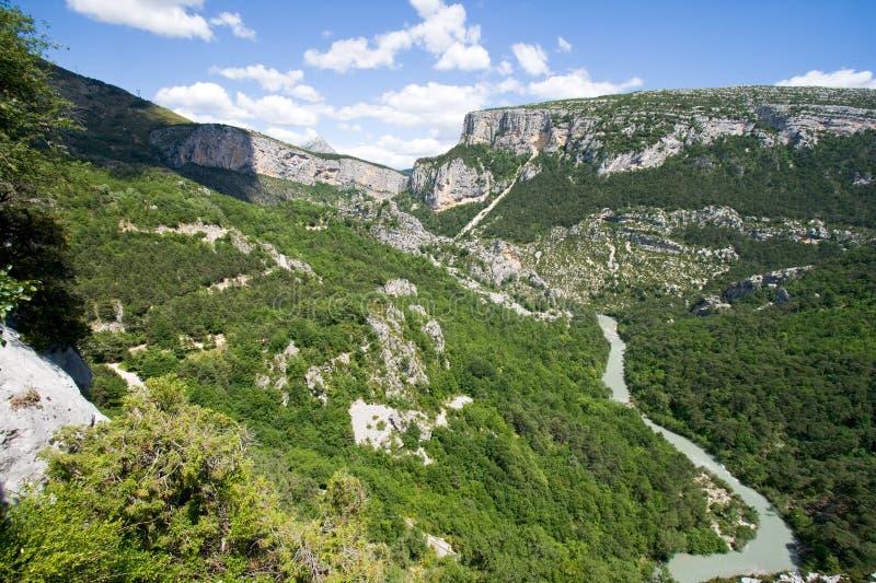 Canyon provence France royalty free stock photography