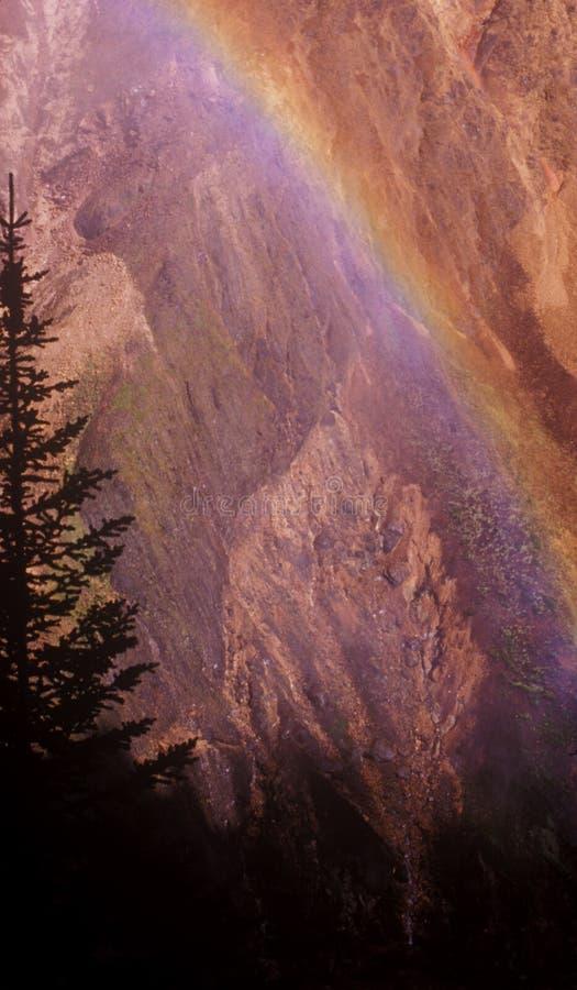 Free Canyon Rainbow-2 Royalty Free Stock Photography - 1804717