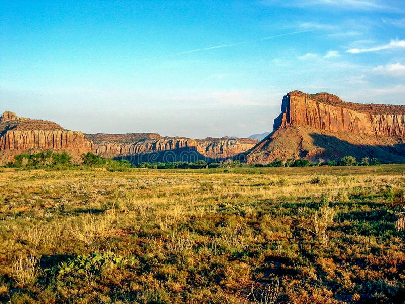 Canyon Rims Recreation Area royalty free stock images