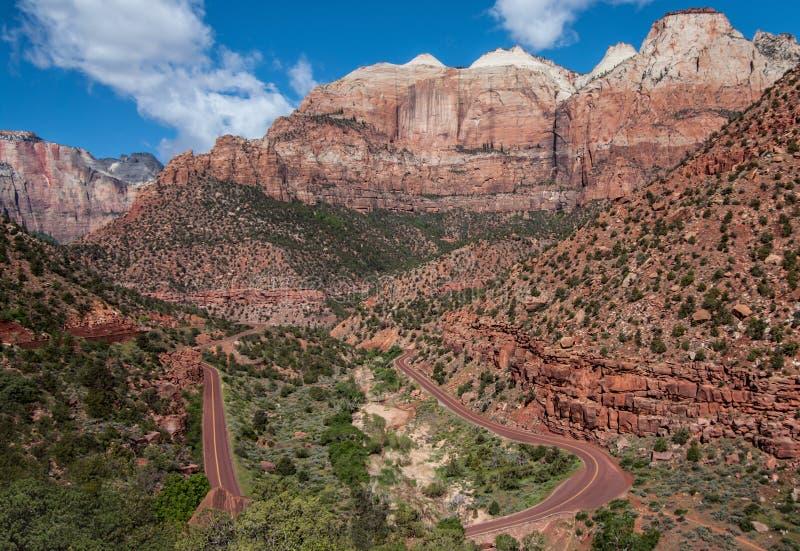Canyon Road stockbilder