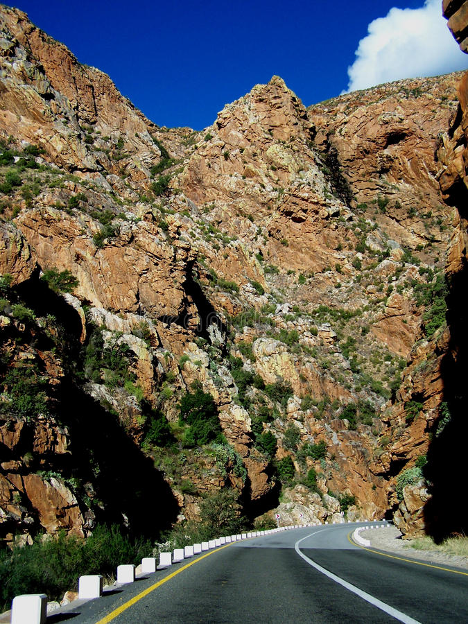 Canyon Road fotografia stock