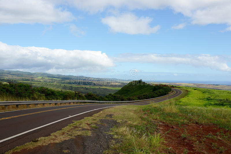 Canyon Road, Kauai foto de stock royalty free