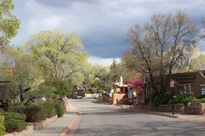 Canyon Road, Santa Fe photographie stock