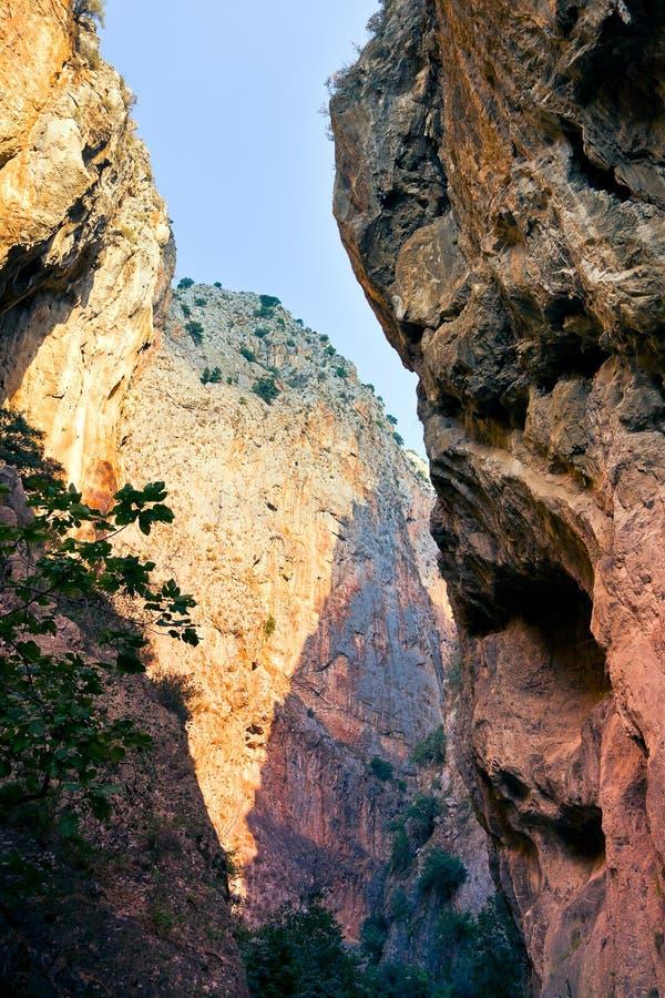 Canyon rocks royalty free stock image