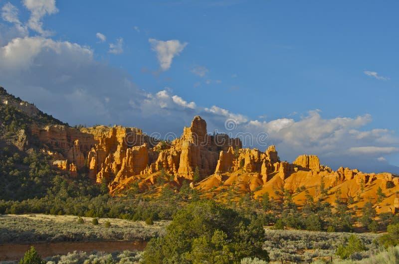 Download Canyon rosso immagine stock. Immagine di erosione, bryce - 55364207