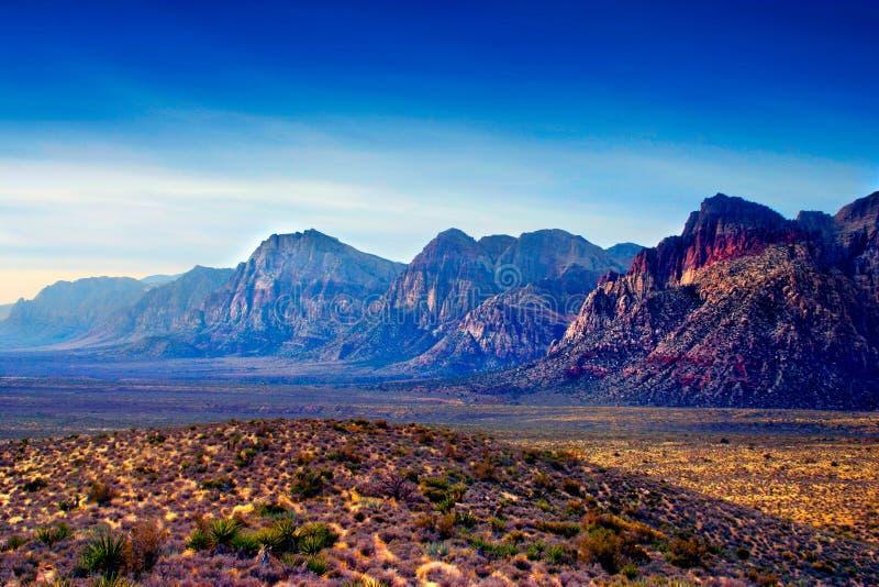 Canyon rosso della roccia, Nevada immagini stock libere da diritti