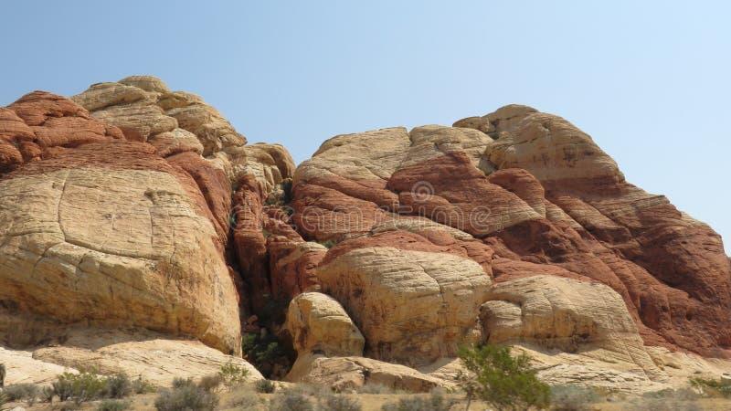 Canyon rouge de roche photographie stock