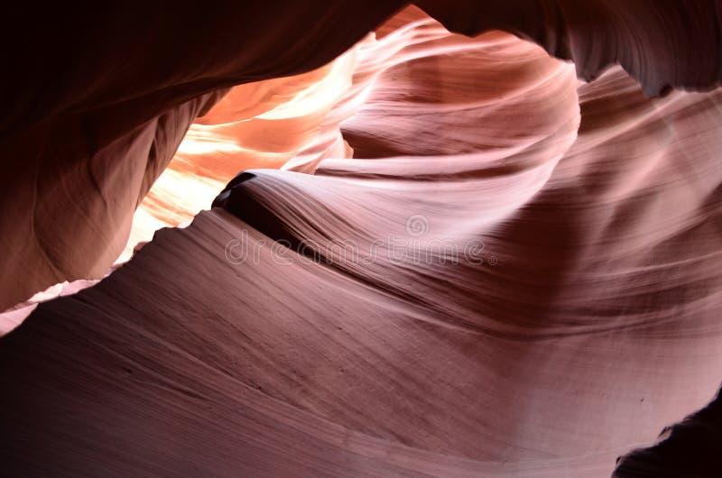 Canyon rouge stupéfiant de fente de roche de l'Arizona images libres de droits