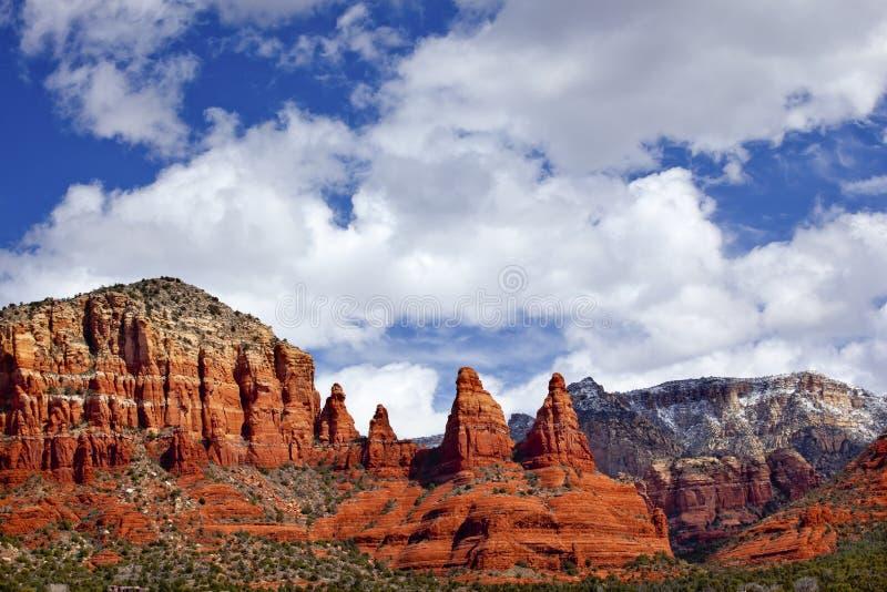 Canyon Sedona Arizona delle suore di Madonna immagine stock
