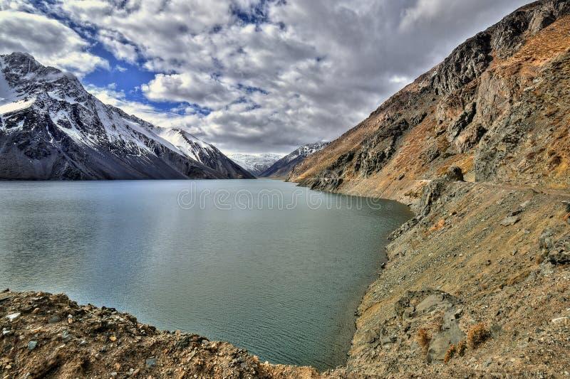 Canyon situé dans le Chili images stock