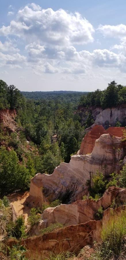 Canyon sky royalty free stock photography