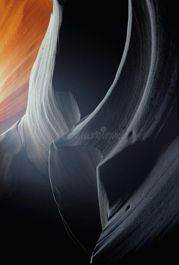 Canyon stretto dell'arenaria immagine stock