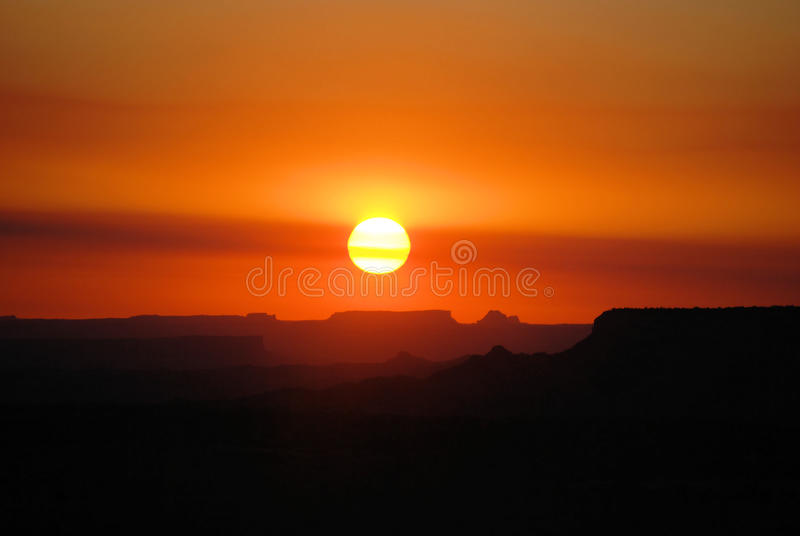 Canyon Sunrise royalty free stock image