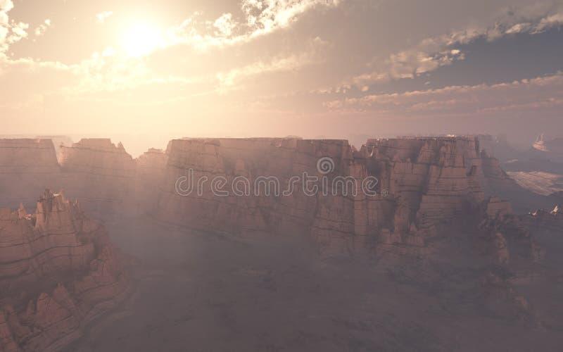 Canyon Sunset royalty free stock images