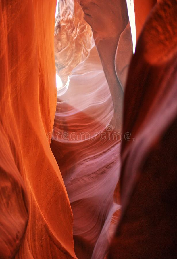 Canyon supérieur d'antilope, Arizona, Etats-Unis photographie stock libre de droits