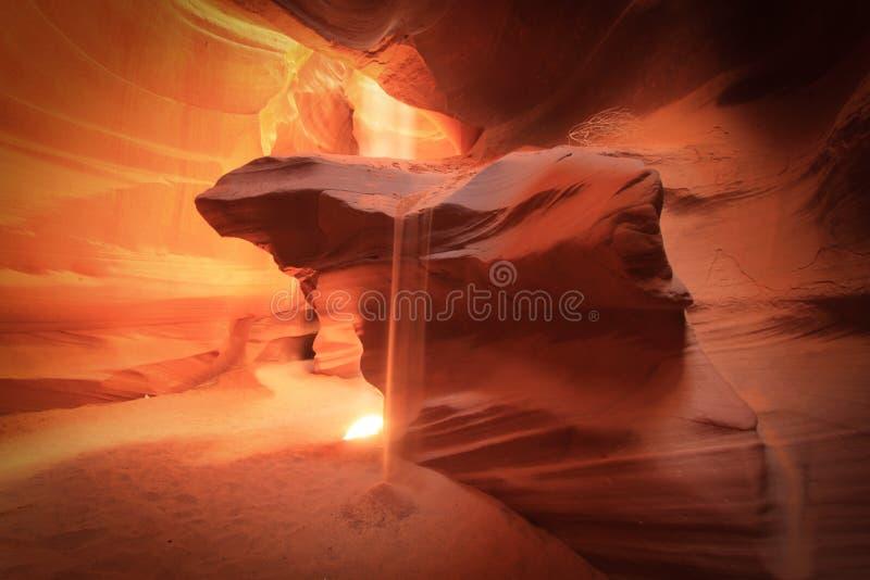 Canyon supérieur d'antilope, page, Arizona photos stock