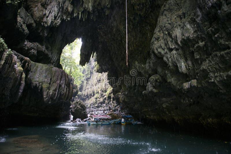 Canyon verde, Pandangaran, Java immagine stock
