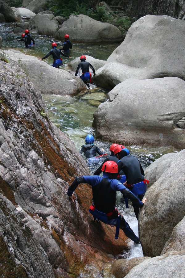 Free Canyoning Royalty Free Stock Images - 1209849
