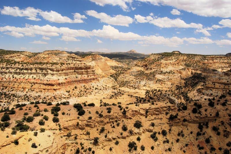 Canyonland royalty-vrije stock afbeeldingen