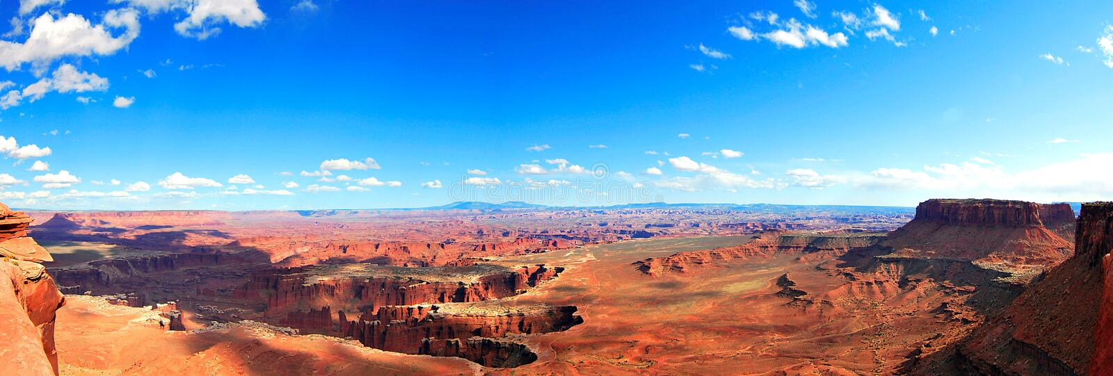 Canyonland Nationalpark stockfotografie