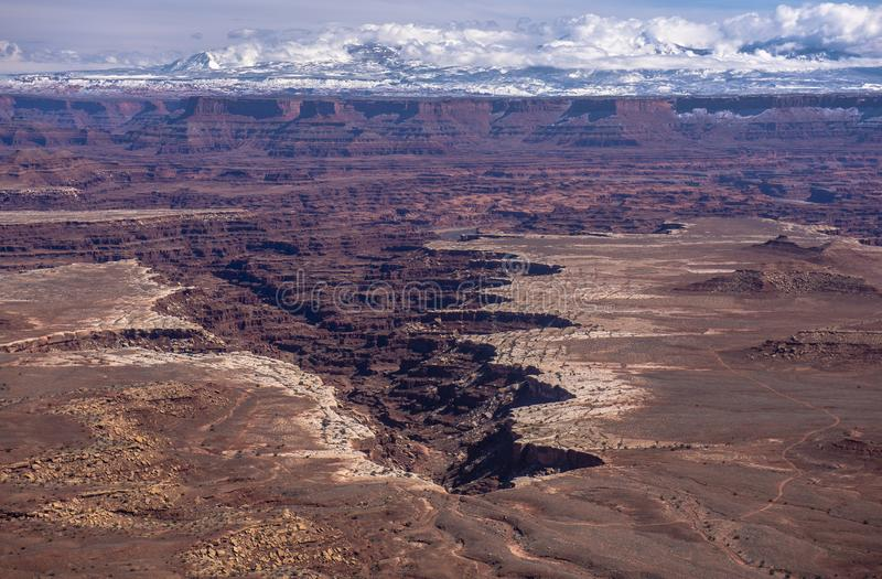 Canyonland nationalpark royaltyfri foto