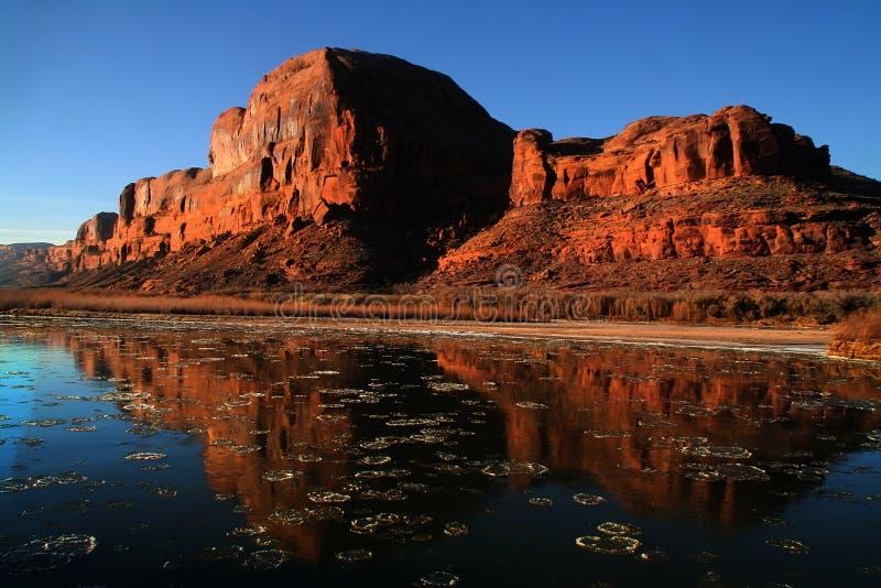 canyonlands国家公园 库存照片
