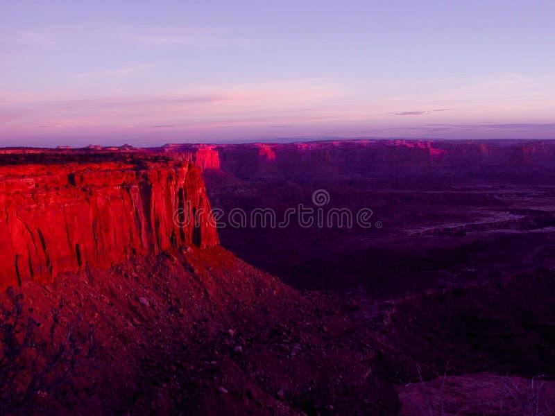 Canyonlands foto de archivo