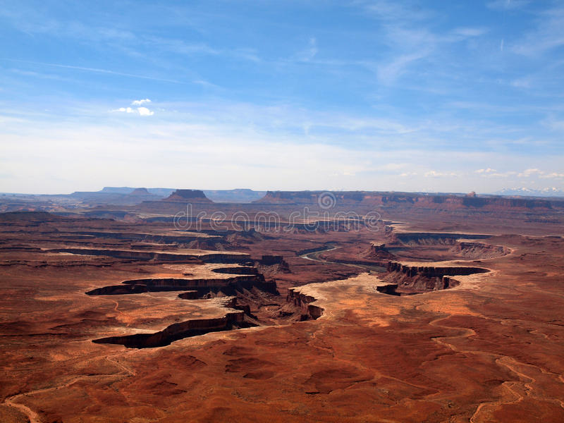 Canyonlands стоковая фотография rf