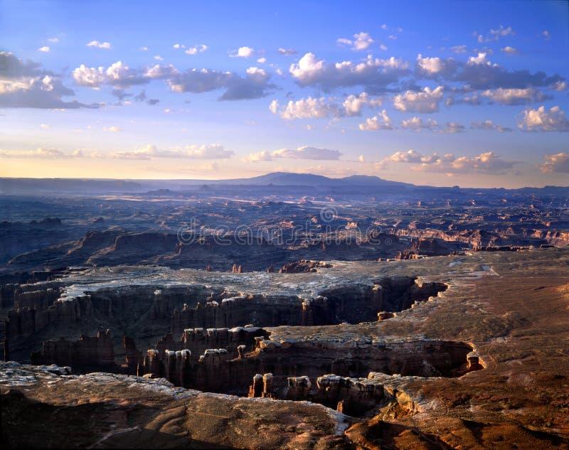 canyonlands 免版税库存照片
