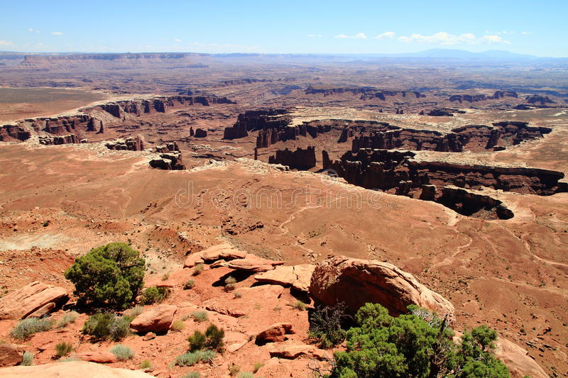 Download Canyonlands: Crater Of Stone Monuments And Pillars Stock Images - Image: 24555614