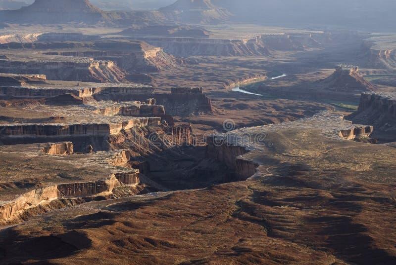 Canyonlands nationalpark royaltyfri bild