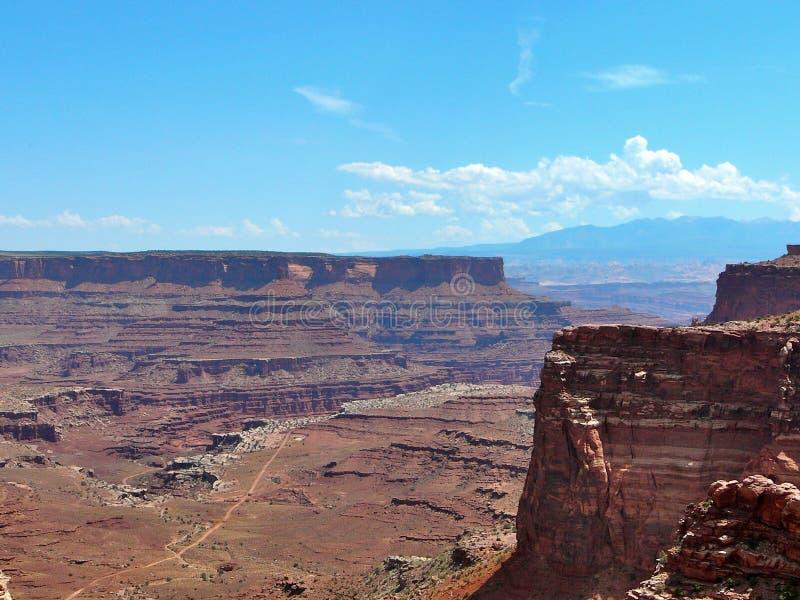 canyonlands park narodowy zdjęcie royalty free