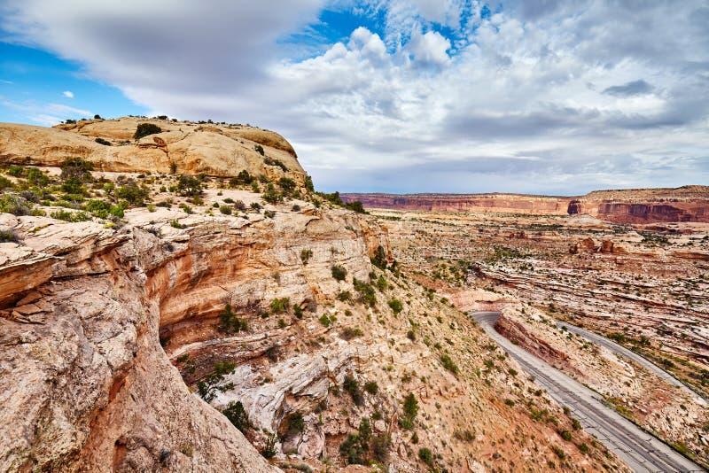 canyonlands park narodowy usa Utah zdjęcia royalty free